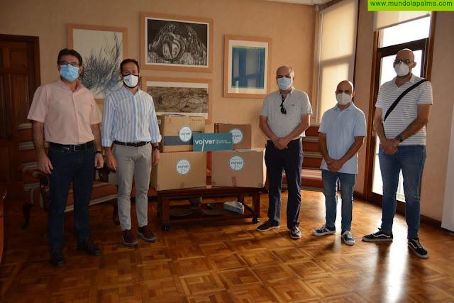 El Cabildo agradece la solidaridad de  odontólogos, fisioterapeutas y podólogos en los momentos más duros de la pandemia