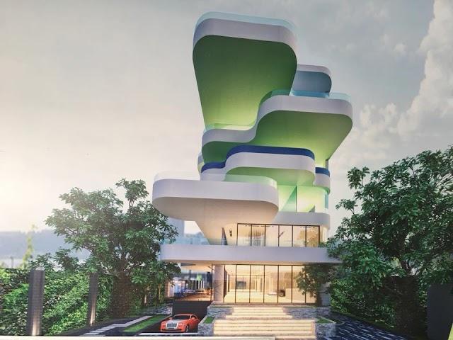 Cloud Symbol House