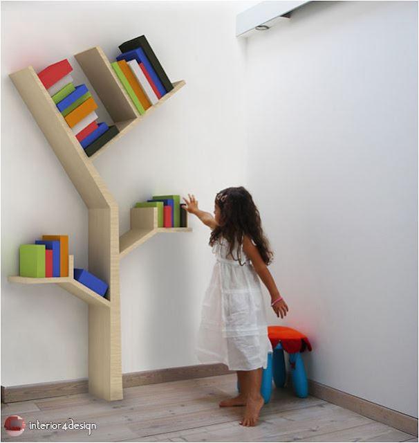 70 Best Bookshelf Designs 15