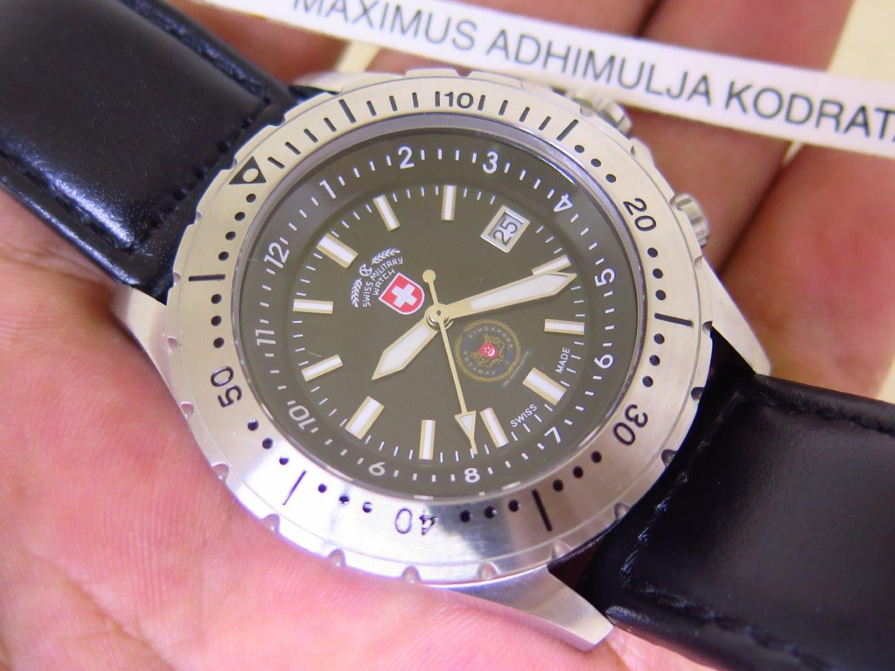 SWISS MILITARY WATCH 452 SAR TENTERA SINGAPURA