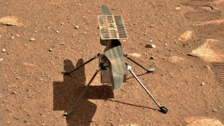 NASA's helicopter made history by flying on Mars