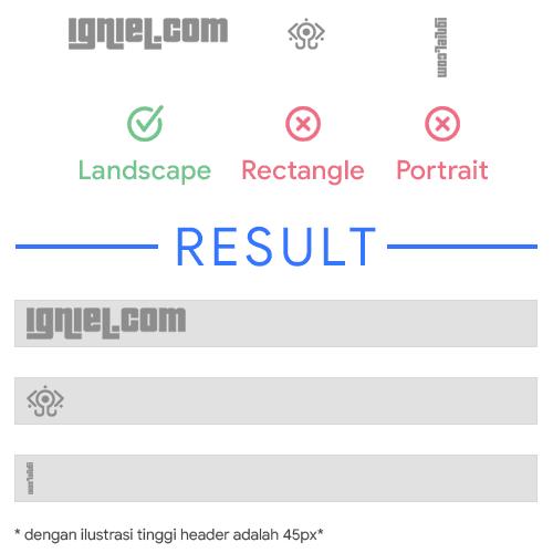 Cara Upload Gambar Sendiri ke Logo Header Blogger