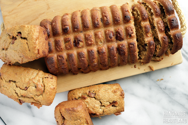 This peanut butter chocolate chip banana bread recipe is easy, moist and delicious.