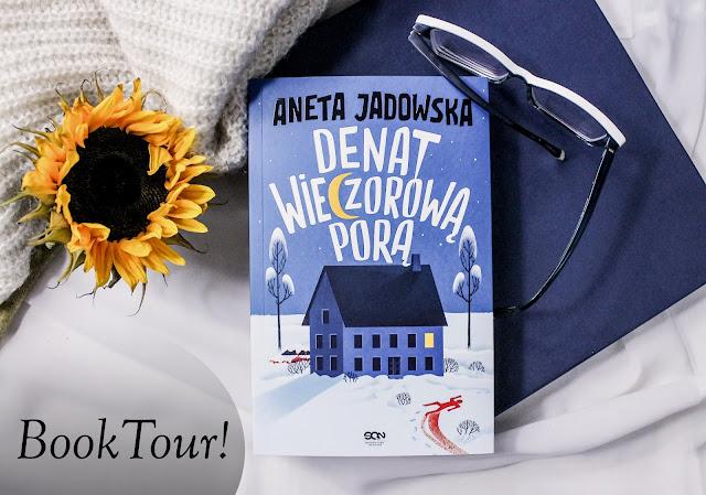 """Book tour z """"Denatem wieczorową porą""""!"""