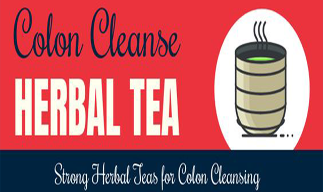 Colon Cleanse Herbal Tea #infographic