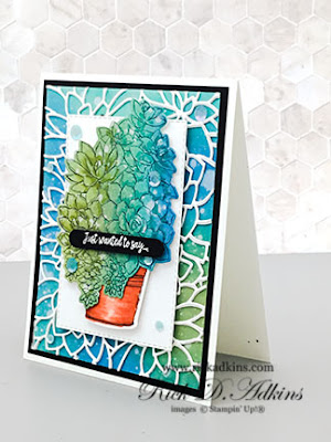 Sometimes you just want to say something in a special way and the Simply Succulents Bundle from Stampin' Up! does just that!  Click here to learn more