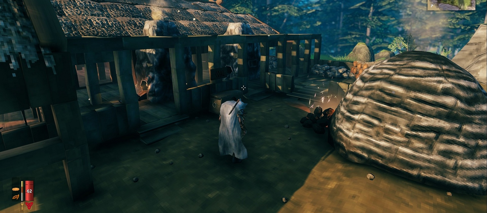 How to save and transfer buildings to another server using the mod in Valheim
