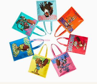 Logo Magnum x Moschino : vinci gratis 60 borse formate Moschino