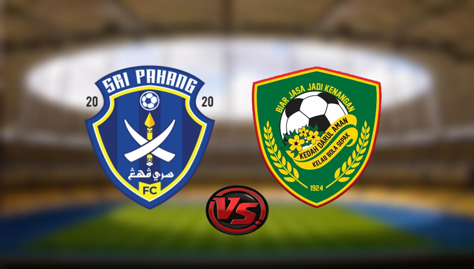 Live Streaming Sri Pahang FC vs Kedah Darul Aman FC Liga Super 1.9.2021