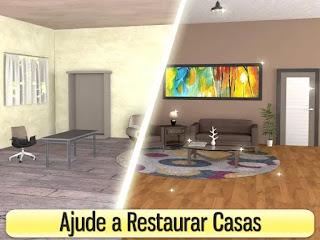 Jogo de simulação de decoração de casa para Android com diamantes infinitos
