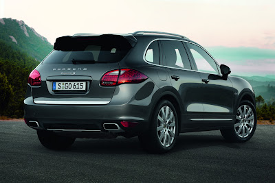 New Porsche Cayenne S Diesel with More Power
