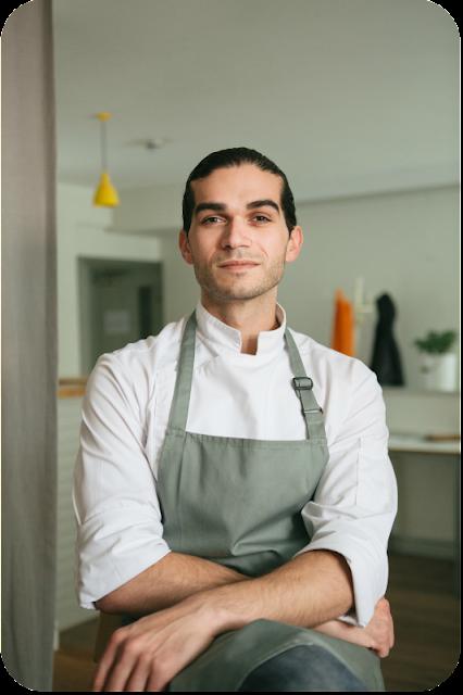 Jozef Youssef, Meisterkoch und kulinarischer Vordenker von kitchen-theory. Photocredit AEG für #tastetology London | Arthurs Tochter Kocht von Astrid Paul