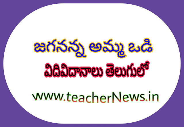 Jagananna Amma vodi Eligible Procedure in Telugu GO 79 Dt.4th Nov, 2019