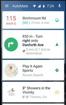 my car app - AutoMate Car Dashboard Driving & Navigation APK