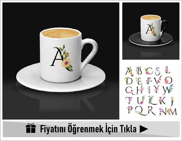 kişiye özel kahve fincanları