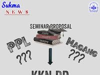 Yahya Mof: Seminar Proposal Syarat Wajib KKN DR