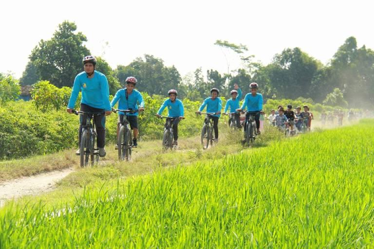 Lombok Traveler Menikmati Desa Wisata Hijau Bilebante Lombok Tengah Dengan Bersepeda Lombok Traveler