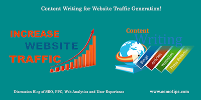 Content Writing to Drive Website Traffic