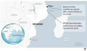 Islamic State claims Mozambique attack that killed 55