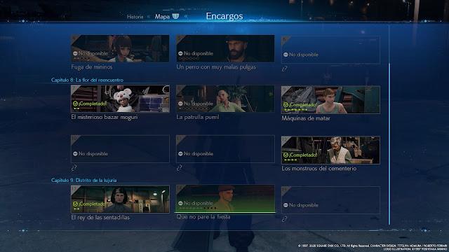 FF 7 Remake - Encargos