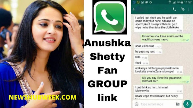 Join 5+ Anushka Shetty Fans WhatsApp Groups Links Latest Update