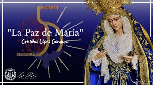 """Estreno de la marcha """"La Paz de María"""" del compositor Cristóbal López Gándara"""