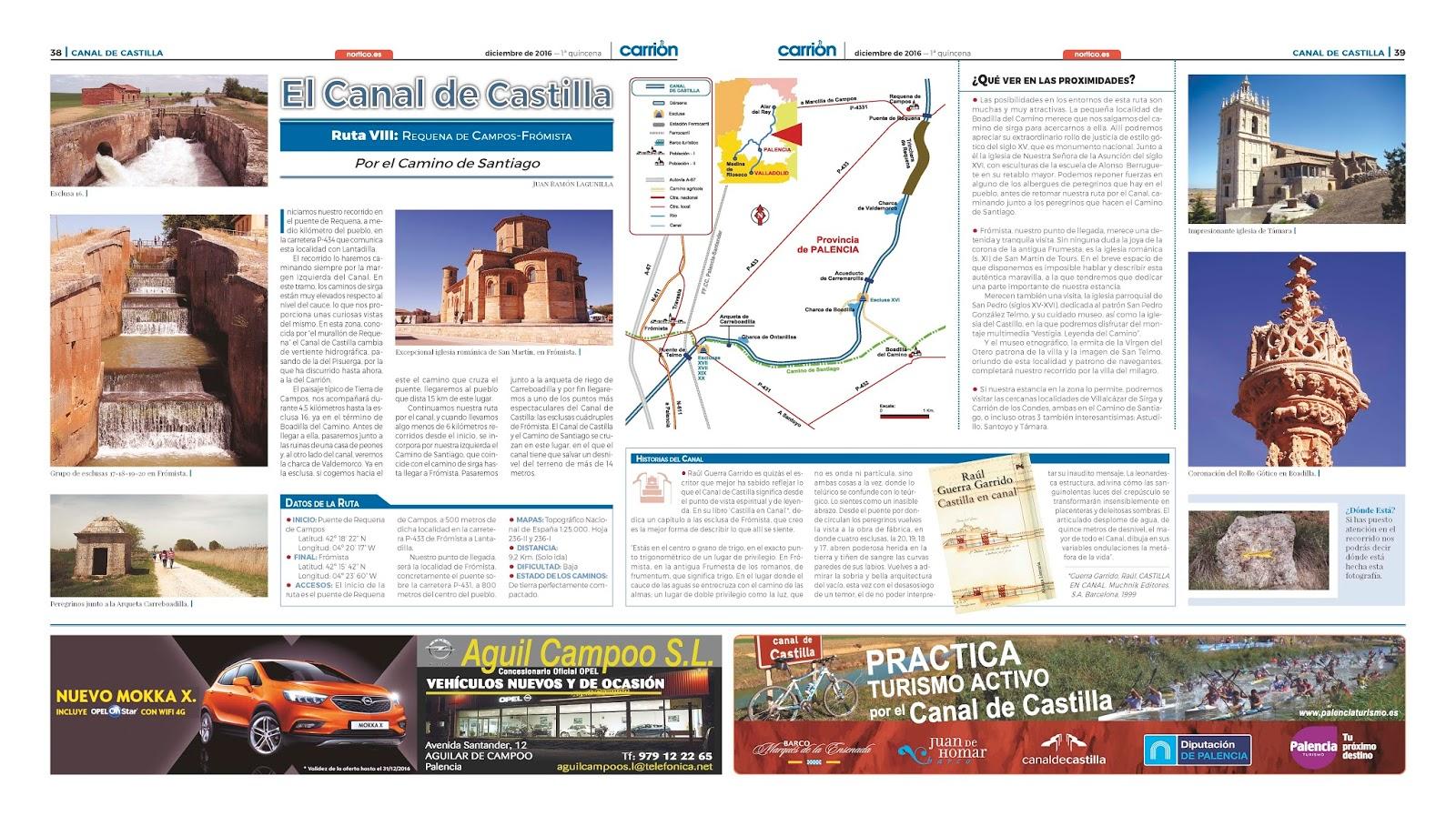 El Canal De Castilla Sue O De La Ilustraci N Peri Dico