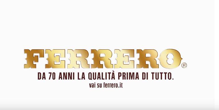 Canzone Ferrero pubblicità olio di palma - Musica spot Ottobre 2016