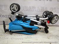 Kereta Bayi LightWeight CocoLatte CL08 iSport - Blue