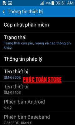 Tiếng Việt Samsung G350E alt