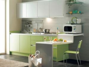 Tidak Hanya Dapur Yang Terbagi Menjadi 2 Bagian Basah Dan Kering Begitu Dengan Kitchen Set Minimalis Modern Model