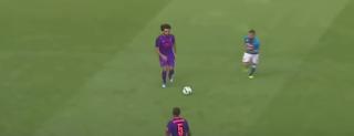 ليفربول يفوز على نابولى بخماسية وصلاح يسجل الهدف الثالث