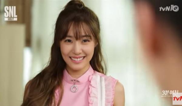Tiffany Appears On SNL Korea :: Daily K Pop News | Latest K-Pop News