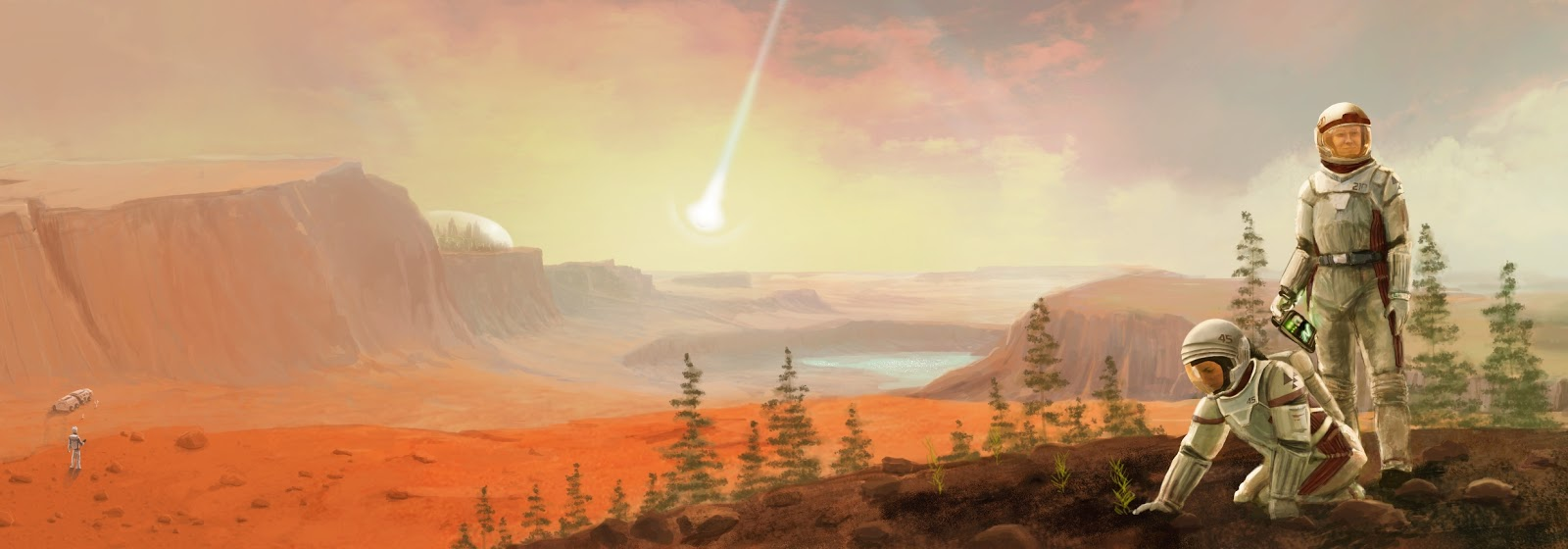 Terraforming Mars by Jacob, Daniel & Isaac Fryxelius (FryxGames)