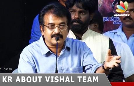 Producer KR to Vishal: Don'T Play THEERATHA VILAYATTU PILLAI Here | Council Election