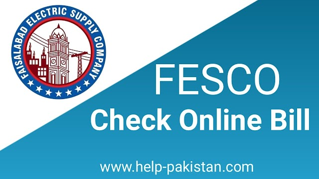 Fesco Online Bill-Fesco Bill