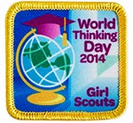 World Thinking Day 2014 Award