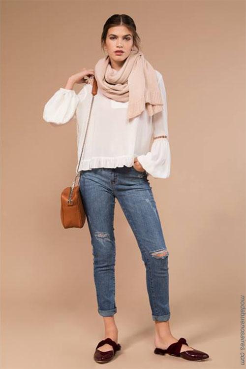 Blusas de moda mujer invierno 2018.