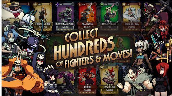 Skullgirls Fighting RPG MOD APK for Android Download
