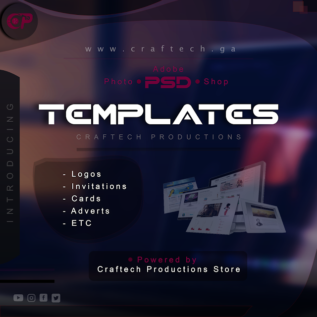 Craftech PSD Templates