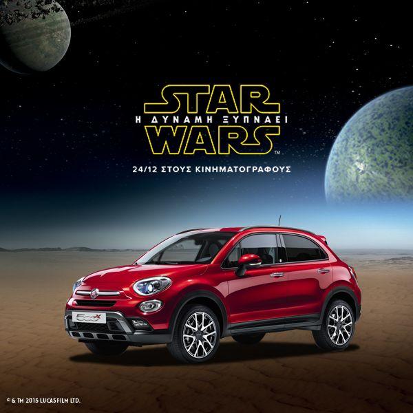 Η FCA συνεργάζεται με την Disney για το Star Wars και ξύπνησε την δύναμη των προσφορών Fiat, Fiat 500, Fiat 500X, Sales