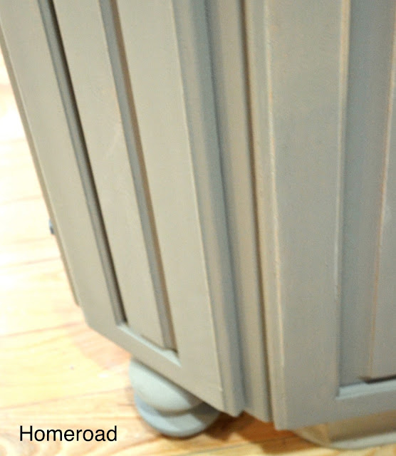 How to chalk paint® kitchen cabinets www.homeroad.net