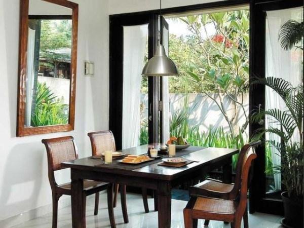 Ruang makan merupakan daerah yang sering diabaikan kebanyakan orang Model Ruang Makan yang Menarik