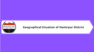 Geographical Situation of Hamirpur District