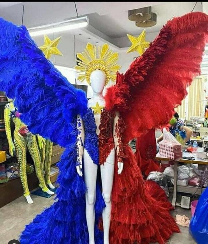 Rabiya Mateo national costume