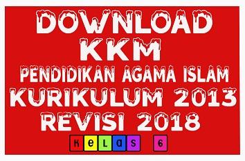 Download KKM PAI SD/MI Kelas 6 Kurikulum 2013 Revisi 2018 Format Doc