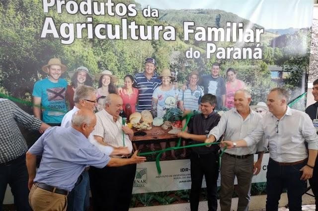 Lançada em Curitiba Feira da Agricultura Familiar