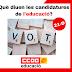 Eleccions al Parlament de Catalunya: Posicionament de les candidatures en referència a l'educació