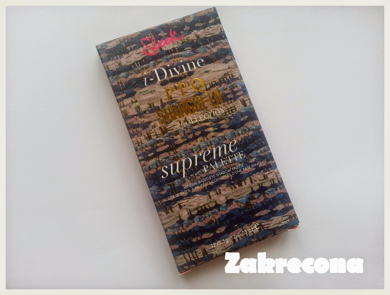 Jaką paletę cieni wybrać? Sleek Supreme