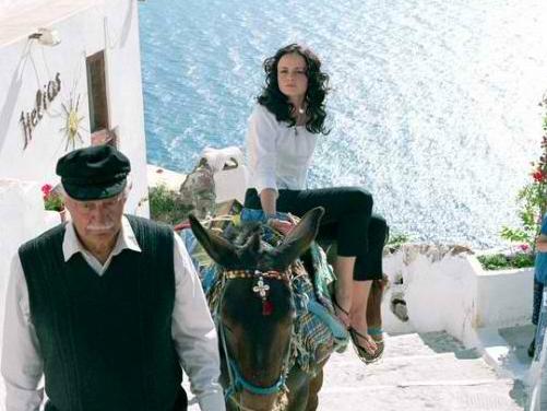 A Grécia de Quatro Amigas e Um Jeans Viajante